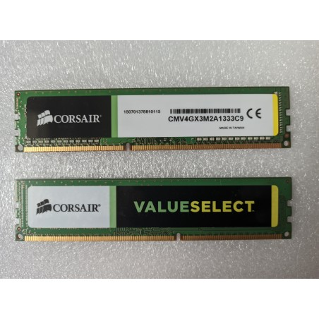 Corsair CMV4GX3M2A1333C9 4GB DDR3 1333 MHz