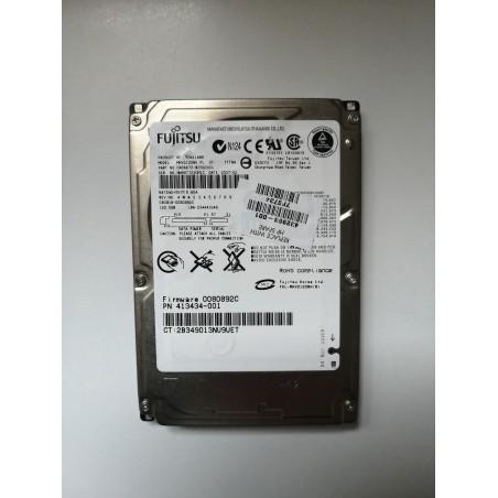 Fujitsu MHV2120BH 120 GB SATA / 150 5400 RPM 8 MB 2,5-inch harde schijf