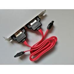 SATA 2-Poort PCI SATA Bracket