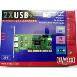 Sweex FA000010 2 port usb...