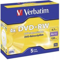 Verbatim DVD + RW 4,7 GB...
